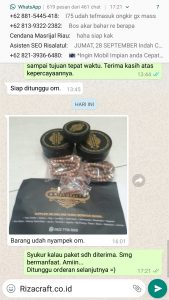 Gelang Kayu Riza Craft