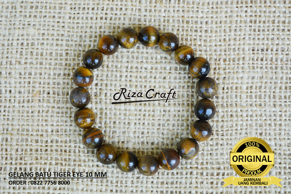 gelang tiger eye asli
