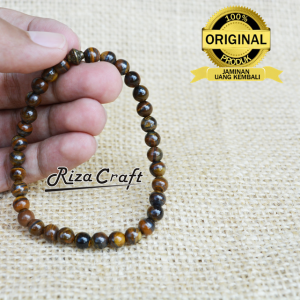 Gelang Tasbih Tiger Eye