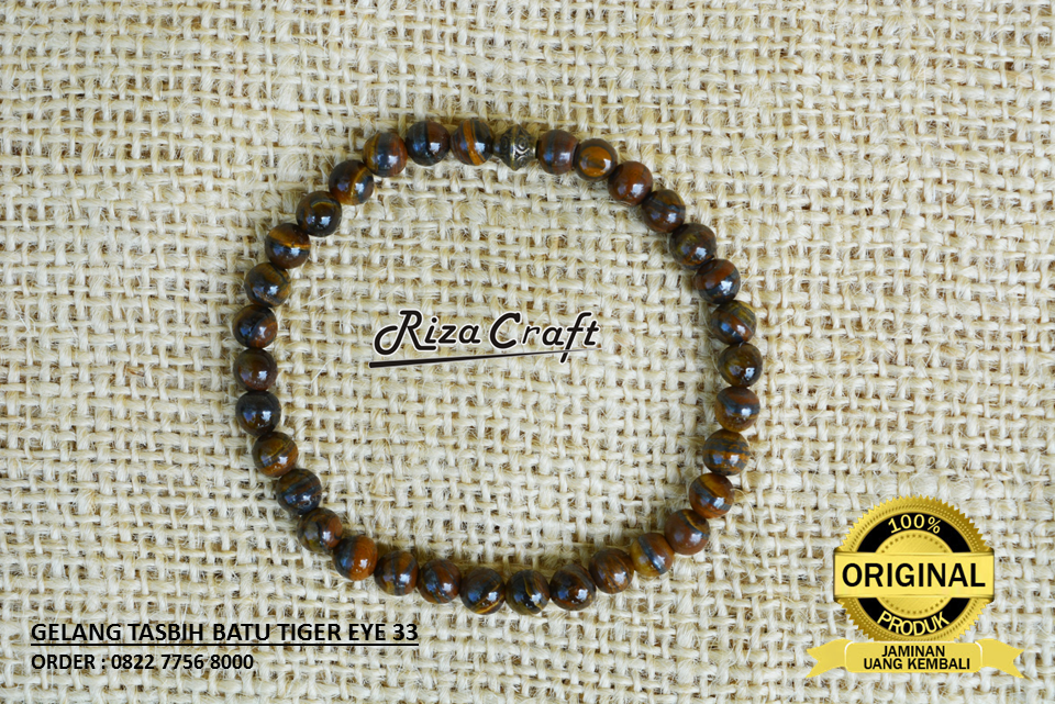 Gelang Tiger Eye Kalimantan