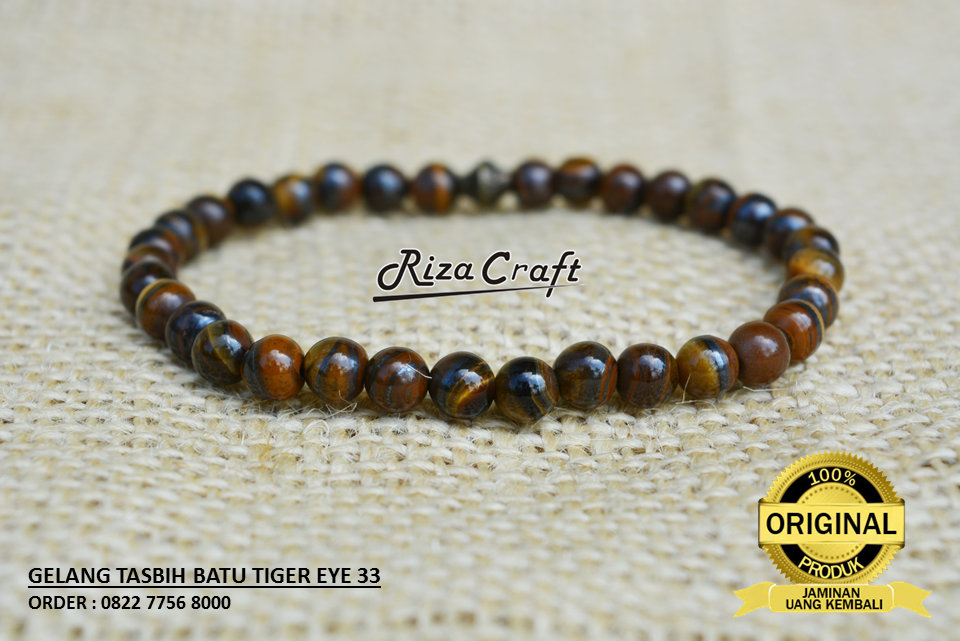 jual gelang tiger eye